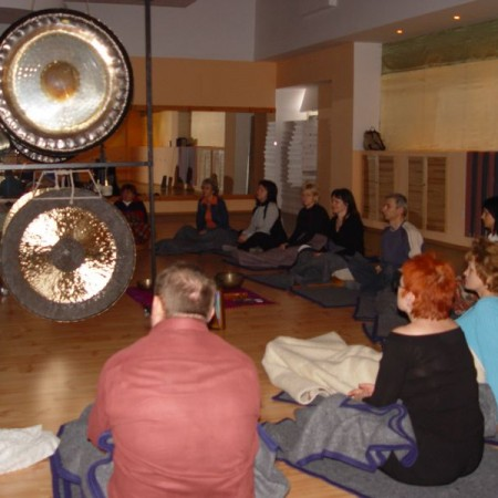Joga Concept - kąpiel w gongu